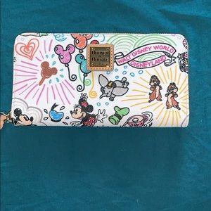 DOONEY & Bourke Disney zip wallet